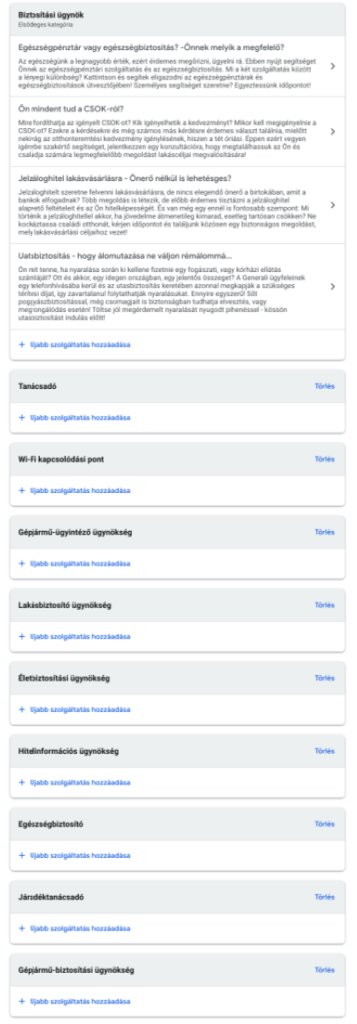 Google Cégem szolgáltatások felvitele