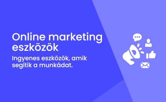 Legjobb online marketing eszközök