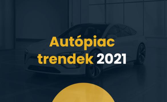 Autópiac: trendek 2021