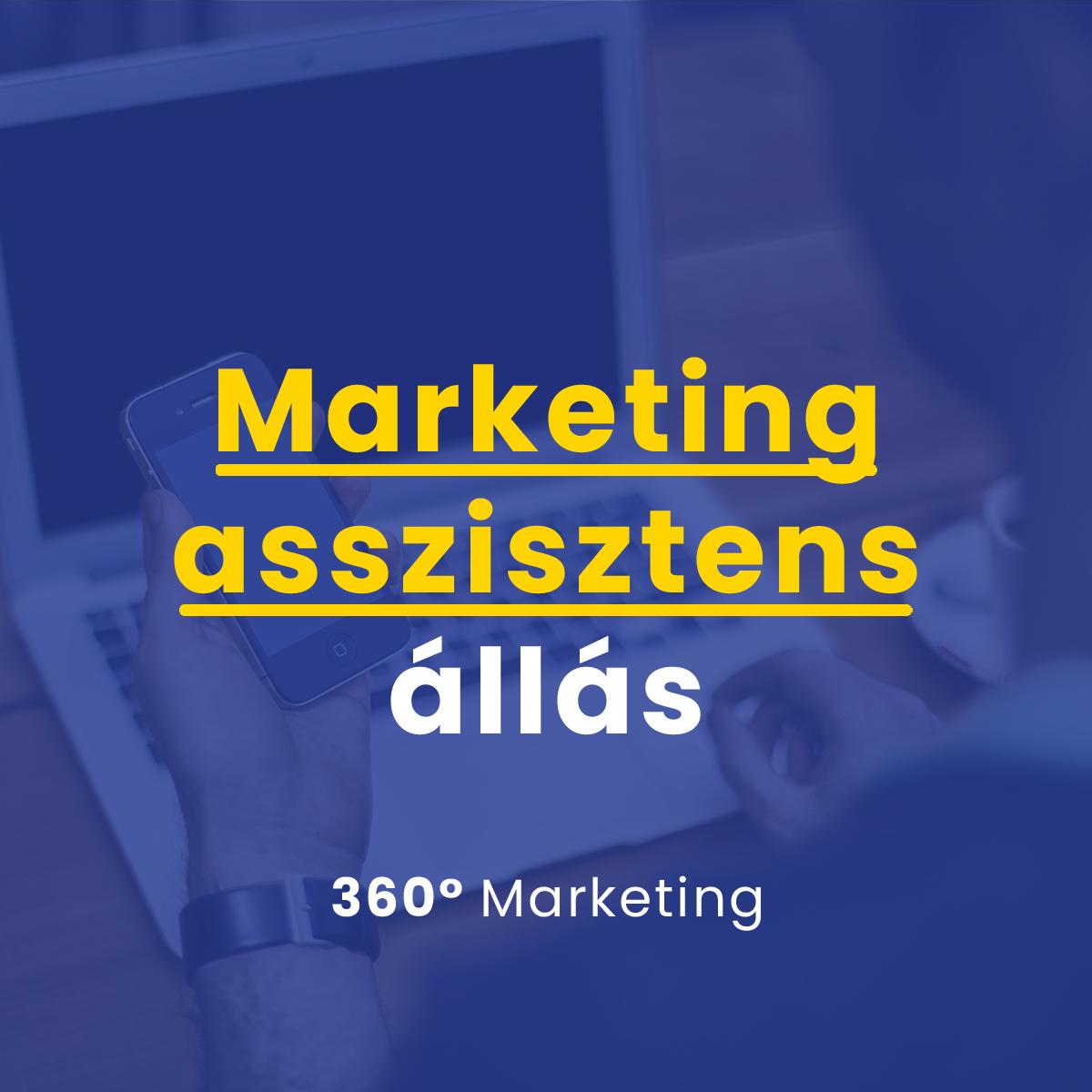 Marketing asszisztens állás