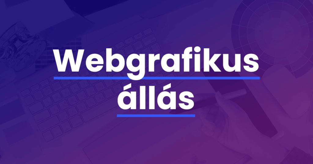 webgrafikus állás